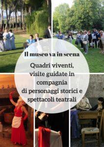 Quadri viventi, visite guidate in compagnia di personaggi storici e spettacoli teatrali